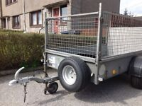 Ifor Williams P7E car trailer