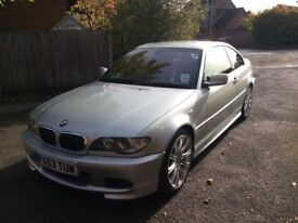 BMW 3 Series 330CI M sports coupe