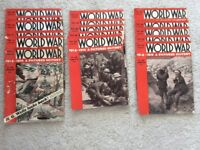 27 World War a Pictured history WW1 collectable magazines printed in 1934 to 1935!