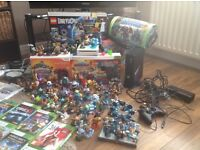 Xbox 360, Nintendo wii plus various games and accessories