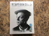 Charlie Chaplin/buster Keaton/frank Sinatra dvds