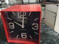 Battery operated clock. Retro