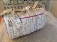 Brand new French designer baby bag