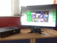 Xbox 360 S + games