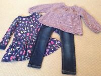 Bundle of Girls Clothing - Frugi and Joules.