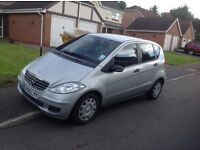 MERCEDES A CLASS 180 SILVER MOT 6/2017 SEND OFFERS