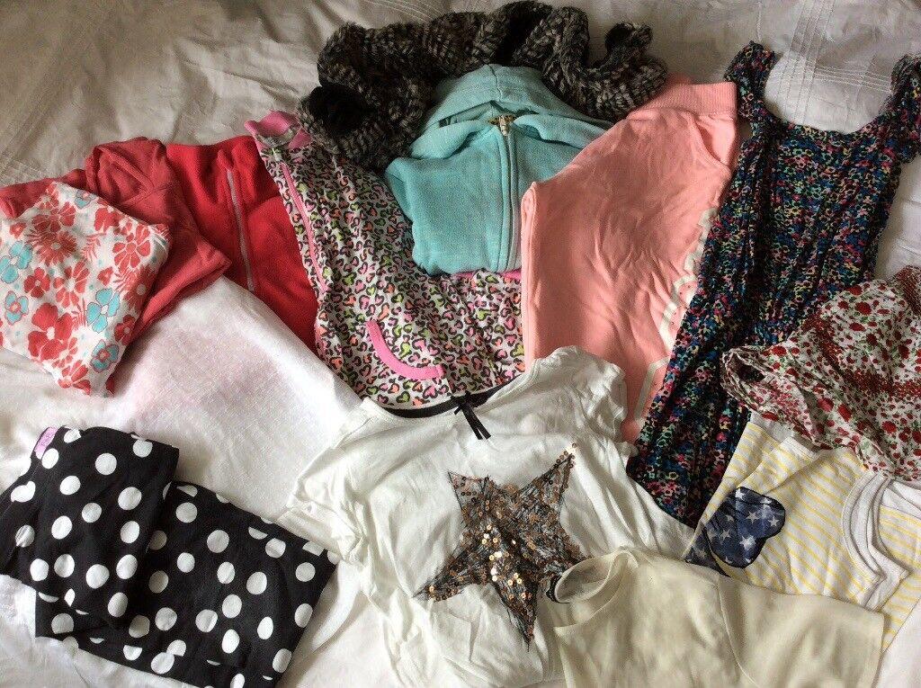 Huge bundle girls clothing 10-11 Years