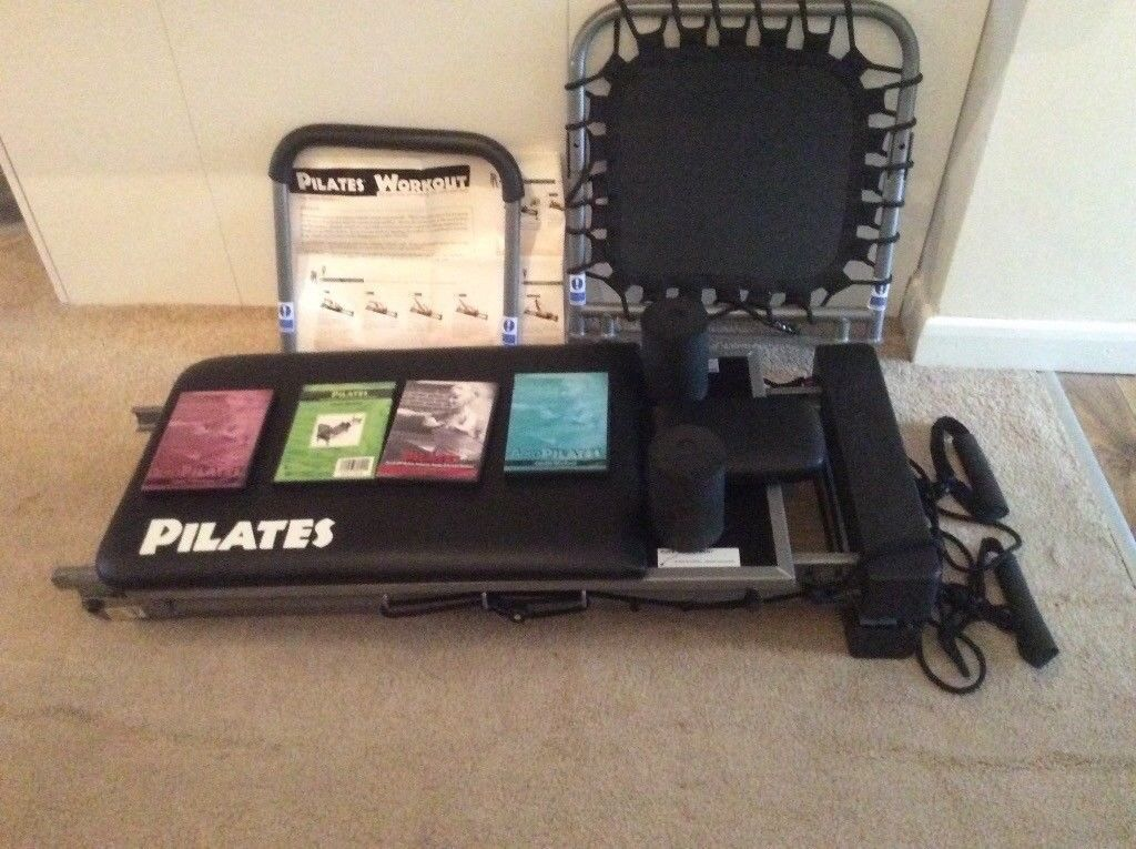Aero Pilates (with cardio rebounder)