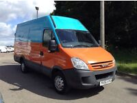 2007 iveco daily 2.3 hpi 35c14 mwb high roof only 117,000 miles 1 owner van from new