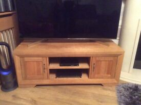New condition Real oak tv unit