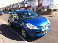 Renault Clio Dymanique S 2008 1.2 TCE Top Spec, Low Miles, Group 4 Insurance