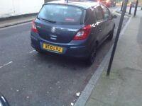 Vauxhall Corsa 2010 model 5 doors hatchback serviced