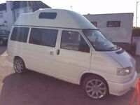 VW T4 camper transporter high roof, 2.4d in Sittingbourne