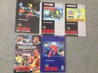 Super Nintendo Information Booklets