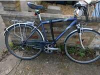 Hybrid bike 50cm