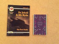 GCSE English Literature - Dr Jekyll and Mr Hyde. Book plus text guide