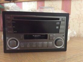 Subaru wrx sti kenwood GX401EF2 radio cassette in excellent condition.
