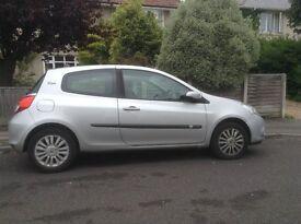 Renault Clio, low mileage, fair condition.