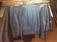 Burtons men's Three piece suit