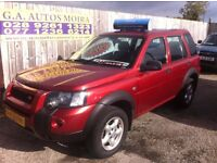 LANDROVER FREELANDER TD-4 FREESTYLE TO SPEC MODEL ( CHOISE 4X4S )