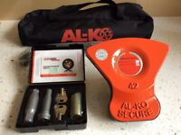 Alko Al-ko Caravan Wheel Lock Kit No 42. Brand New