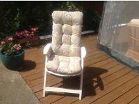 4 Nova Garden Chairs
