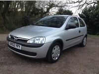 2002 Vauxhall Corsa 1.2 Semi Automatic, ONLY 6K GENUINE MILES, One Owner, Immaculate Condition