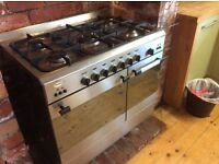 Stylish Baumatic Dual Fuel Range Cooker