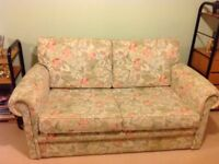 IKEA two seater settee in good condition hardly used