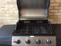 Ultra 4 Burner Gas Barbecue, good condition