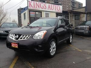 2012 Nissan Rogue SL, NAVI, BACKUP-CAM, LEATHER, SUNROOF,AWD.