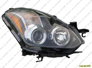 Head Lamp Passenger Side Coupe Halogen High Quality Nissan ALTIMA 2010-2013