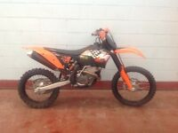 2011/11 KTM 250 EXC (ROAD LEGAL WITH V5)