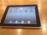 Apple iPad 1st Generation 64GB, Wi-Fi ,3G 9.7in - Black.