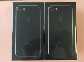Brand New Sealed iPhone 7 Jet Black 128GB Unlocked Sim Free With Receipt , West London Collection