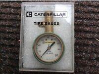 Vintage Caterpillar Tyre Pressure Gauge.