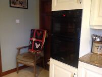 Bosch double fitted oven