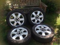 VW Touran alloy wheels