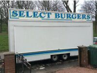 Snack van/ trailer... for the catering industry