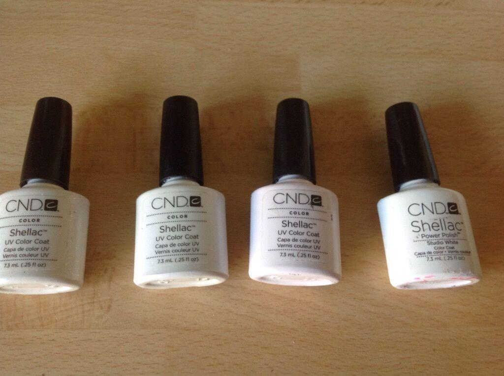 Cnd Shellac Polish French Manicure Gel 4 Negligee