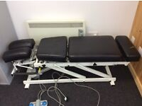 Chiropractic bench
