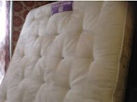 Silentnight double divan bed,near as new,comfort personified,£125.00
