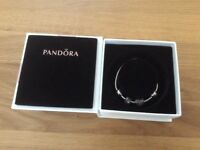 Pandora July birthstone bracelet set and charm.