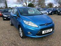 Ford, FIESTA, Hatchback, 2011, 1.2cc FSH @ Aylsham Road Affordable Cars