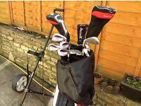 Slazenger Panther golf clubs