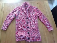 Girls knitted jacket 9-10 yrs (next)