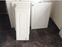 KITCHEN CUPBOARD DOORS VARIOUS SIZES- SOLD EITHER SEPARATE OR AS A WHOLE
