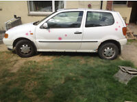 Volkswagon Polo 1997 for PROJECT or parts