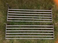 Stainless steel shelves x 2