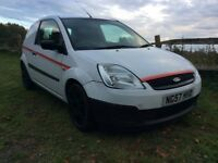 0d2a0e8b02 FORD FIESTA VAN 1.4 TDCI VERY ECONOMICAL MOT DRIVES WELL VERY RELIABLE LITTLE  VAN QUICK SALE